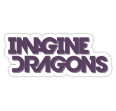 Imagine Dragons Logo uploaded by K.A.R.MA on We Heart It