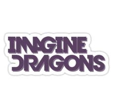 Imagine Dragons Logo uploaded by K.A.R.MA on We Heart It