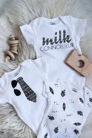 modern onesies dress your littles in style with these diy baby onesies your cricut