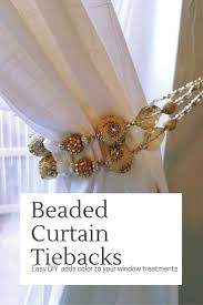 Best 25+ Curtain tie backs ideas on Pinterest | Curtain tie back hooks, Diy curtain  tiebacks and Curtain tiebacks design