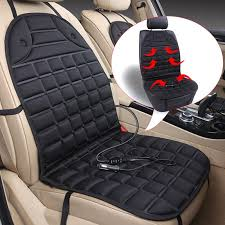 12v singel pair electric heated car seat cushion cover seat heater warm winter household cushion car driver heated seat pad for car seat pads for cars from