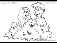 Small Picture Christian coloring pages Adam and Eve Noahs Ark 10