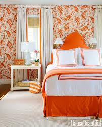 orange bedroom wallpaper photo - 8