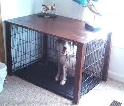 dog crate furniture diy dog crate table dog crate furniture diy plans