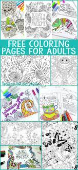 Free Coloring Pages For Adults Free Adult Coloring And Craft