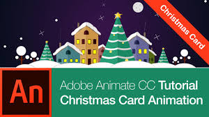 Animate Cc Tutorial Create A Christmas Card Free Download Youtube