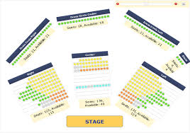 Nokia Theater Seating Chart Video Ticketor Sample Working Sites And Testimonials
