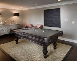 rug under pool table houzz carpet bowling game ripping out carpet