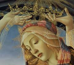 the painting the madonna of the magnificat by sandro botticelli
