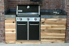 outdoor kitchen sink station barbecue islands by surrounding elements custom outdoor barbecue