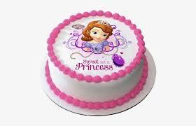 Princess Cake Png Round Birthday Cake With Name Srishti