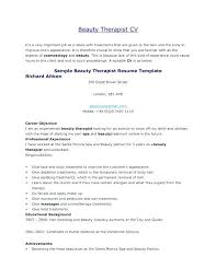 Beautician Cover Letter Resume Format For Beautician Lovely ...