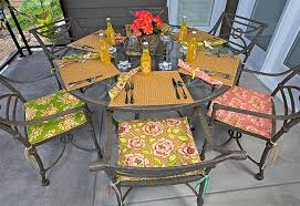 diy outdoor furniture cushions.  Diy Amazing How To Make Patio Chair Cushions And Party Sitting Pretty  For Diy Outdoor Furniture