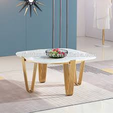 marble top coffee table sofa side table