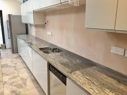 Piracema White Granite Kitchen Eased Edge White Piracema Granite Kitchen Countertopseased Edge
