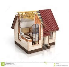 Construction Of Home Design Construction House Plan Design Blend Transition Illustration
