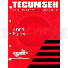 Tecumseh 696325 V-Twin Engine Manual ($10.35)