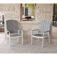 Amazon com we furniture coastal outdoor dining chairs set of 2 garden outdoor