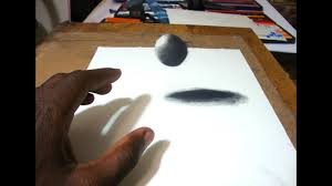easy way to draw a 3d floating ball