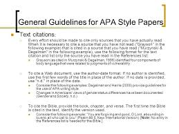Writing An Apa Style Research Paper Ppt Video Online Download