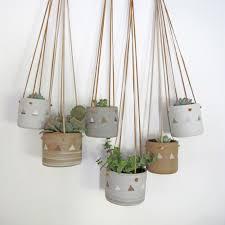 Hanging Planters December Hanging Pots Heidiandersonstudio