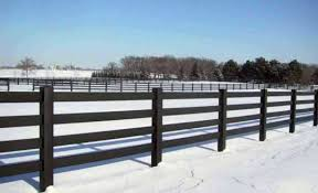 wood rail fence. Perfect Fence Tuff Stuff  4 Rail Horse Fence Throughout Wood