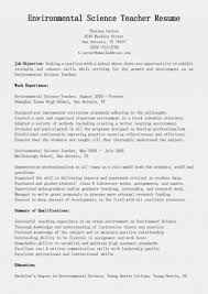 Science Resume Cover Letter Resume Environmental Science Sbv60yslmes Cover Letter Sample Entry 34