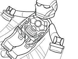 Iron Man Coloring Sheets