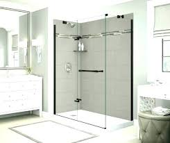 corner shower surround flex enclosure kits stall n origin es e medium size of wall