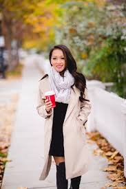 petite trench coat trench coats for women over the knee boots fall outfit