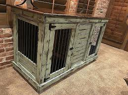 double dog crate furniture end table awesome wood home design ideas and wallpaper console