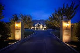 image of portfolio outdoor lighting company website