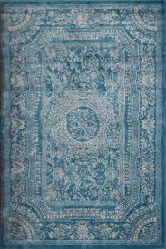 light blue traditional french fl wool persian vintage blue rug