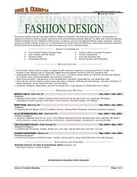 Fashion Designer Resume Templates Socceryourself Fashion Resume Templates