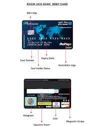 Uco Bank Visa Debit Card Offer