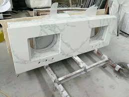 48 white quartz vanity top china counter