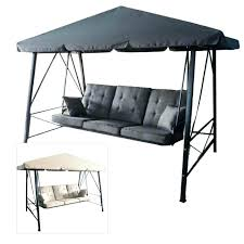 3 person patio swing with canopy hampton bay futon replacement daybed gazebo outdoor