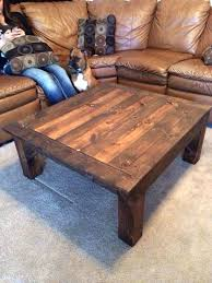 home made wooden table best homemade coffee tables ideas on wood homemade wood coffee table making