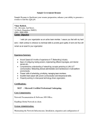 Sample Resume Sample Resume Government Jobs Cometmerchcom