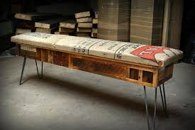 outstanding reclaimed wood storage bench in benches modern reclaimed wooden bench b95 reclaimed