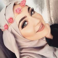 flower crown with hijab how to wear cute hijab in honeymoon