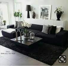 Pin de Francisca Mack en Future House Ideas | Sala de estar negra,  Decoración de sala de tv, Decoracion de salas