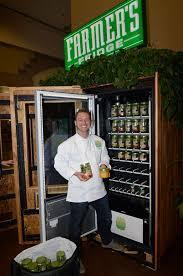 Fresh Salad Vending Machine Interesting FarmFresh Salads In A Vending Machine