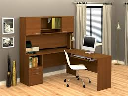 furniture best corner desk with hutch cool grey color picture designs nice brown color wooden nice grey curtain small white chairs computer let s study in