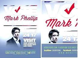 Political Flyer Template Political Flyer Template Free Design
