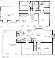 2 story house layout two story house plans