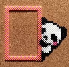 Pixel Art Ideas Marco De Oso Panda Perler Beads Ideas