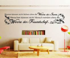Wandtattoo Spruch Freundschaft Wandsticker Zitate Zitat Weisheit