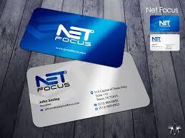 Design Focus Cards Net Focus Business Card And Logo Design By Sadzip Design
