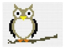 Owl Knitting Chart Pattern Knitting Owl Creating Knitting